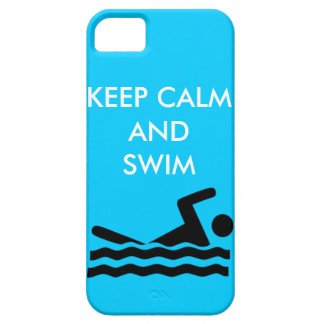 Swimmer iPhone 5/5S Case