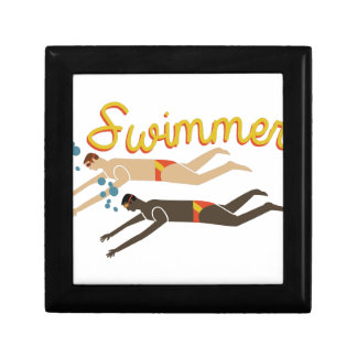 Swimmer Jewelry Box