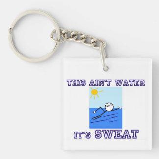 Swimmer Keychain