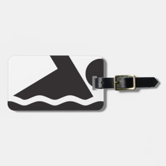 Swimmer Tag For Bags