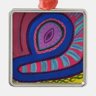 Swimmer Metal Ornament