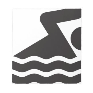 Swimmer Note Pads