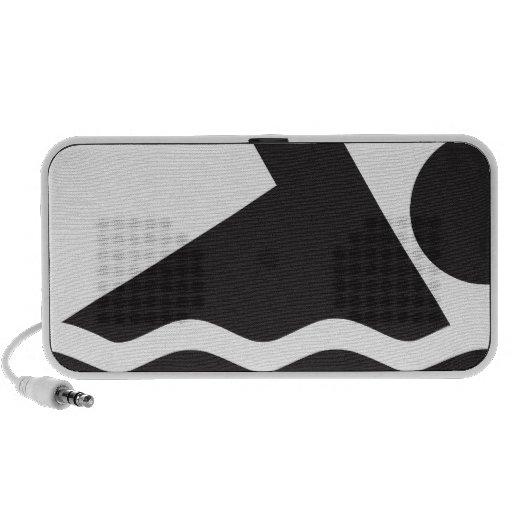 Swimmer Notebook Speaker