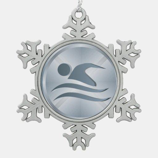 Swimmer Ornament - SRF