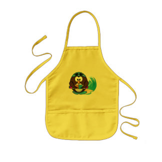 swimmer owl aprons