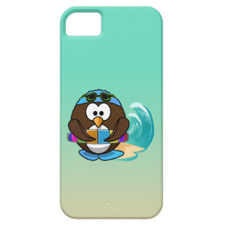 swimmer owl iPhone 5 cases