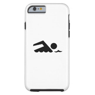Swimmer Pictogram iPhone 6 Case