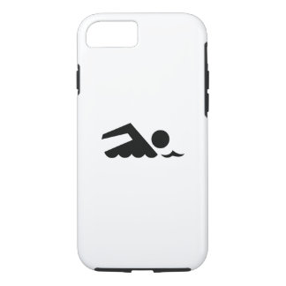 Swimmer Pictogram iPhone 7 Case