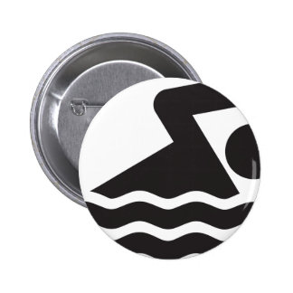 Swimmer Pinback Buttons