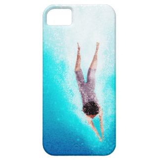 """Swimmer """"Refresh"""" iPhone 5 Covers"""