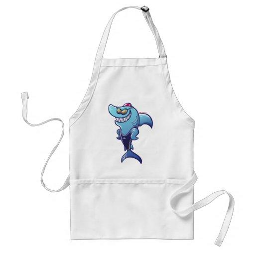 Swimmer Shark Apron