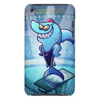 Swimmer Shark iPod Touch Case-Mate Case