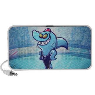 Swimmer Shark PC Speakers