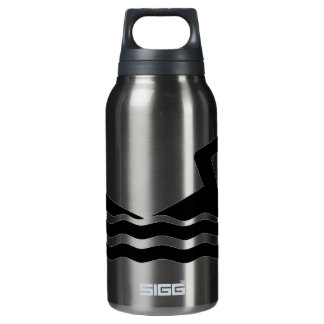 Swimmer Silhouette Liberty Insulated Water Bottle