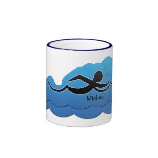 Swimmer Swimming Mug