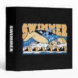 Swimmer Vinyl Binder