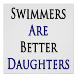Swimmers Are Better Daughters Posters