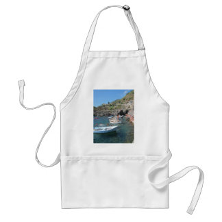 Swimmers at Cinque Terre Adult Apron
