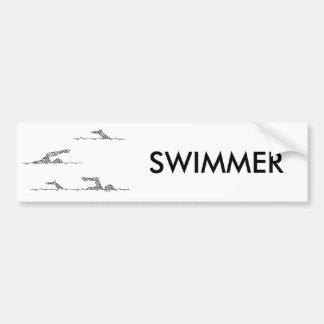 SWIMMERS BUMPER STICKER
