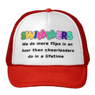 Swimmers & Cheerleaders Trucker Hats