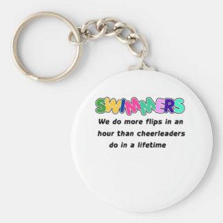 Swimmers & Cheerleaders Keychain