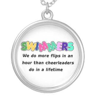 Swimmers Cheerleaders Custom Jewelry