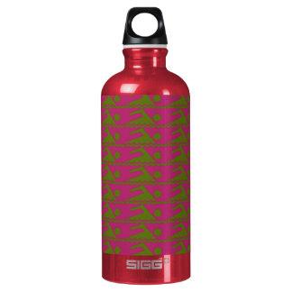 Swimmers-FushiaBkg Water Bottle