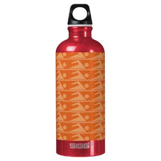 Swimmers-Orange Water Bottle