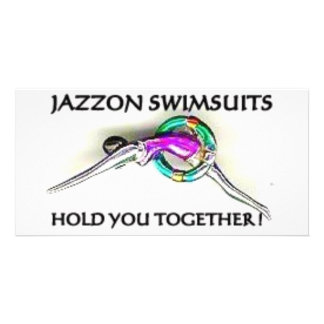 SWIMMERS PICTURE CARD