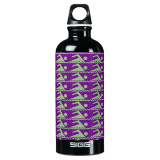 Swimmers-PurpBkg Water Bottle