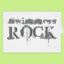 Swimmers Rock Card