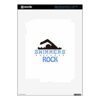 Swimmers Rock Decal For iPad 3