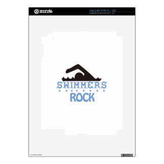 Swimmers Rock iPad 2 Decals