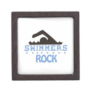 Swimmers Rock Keepsake Box