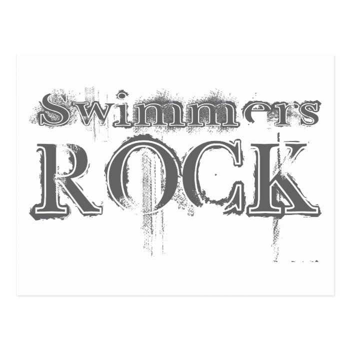 Swimmers Rock Postcard