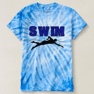 Swimmers's Men's Tie-Dye T-Shirt