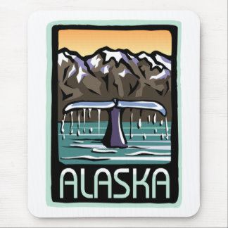 Swimmin' in Alaska Mouse Pad
