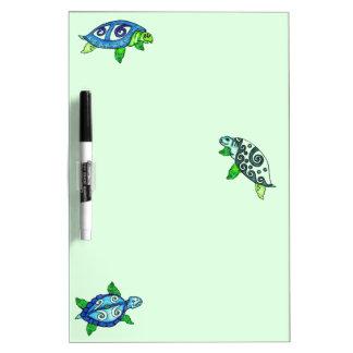 Swimmin Sea Turtle Dry Eraser Board Dry Erase Whiteboards
