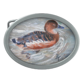 Swimming aceo Belt Buckle