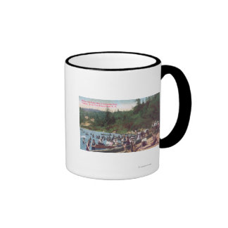 Swimming and Boating on the Russian River Coffee Mug
