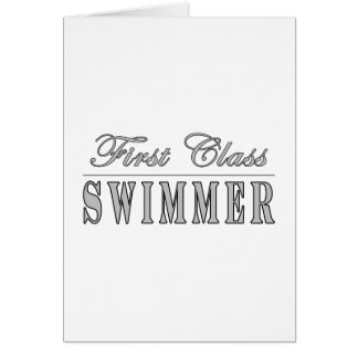 Swimming and Swimmers : First Class Swimmer Cards