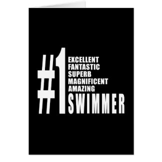 Swimming and Swimmers : Number One Swimmer Cards