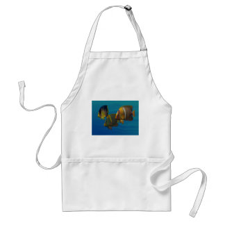 Swimming Angelfish Adult Apron