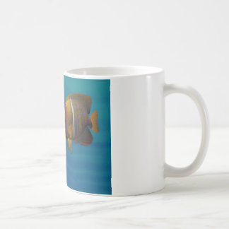 Swimming Angelfish Coffee Mug