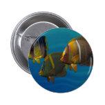 Swimming Angelfish Pins