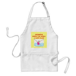 swimming apron