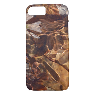 Swimming Autumn Leaves Abstract Photograpy Camo iPhone 8/7 Case
