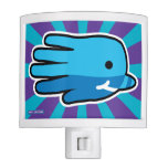 Hand shaped Swimming Baby Narwhal Whale Night Light