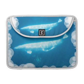 Swimming Beluga Whale 13 MacBook Sleeve MacBook Pro Sleeve