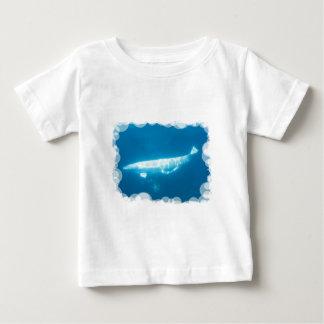 Swimming Beluga Whales Baby T-Shirt